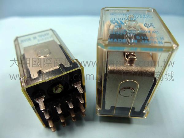 *大朋電子商城*NAIS HC4-HP-AC240V 繼電器Relay(5入)