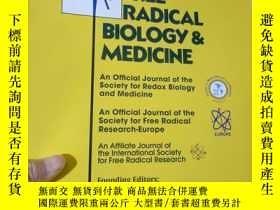二手書博民逛書店Free罕見Radical Biology & Medicine