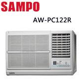 【SAMPO聲寶】3-5坪定頻右吹窗型冷氣AW-PC122R
