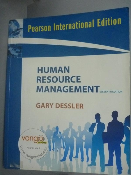 【書寶二手書T7/大學商學_ZBM】Human Resource Management_Dessler