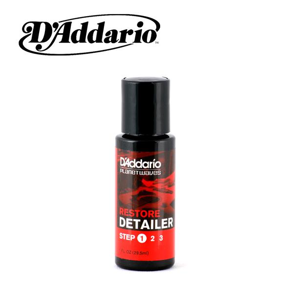 小叮噹的店- D'Addario 美國製 Restore Detailer 1oz.深層清潔液 樂器保養用品PL-01S