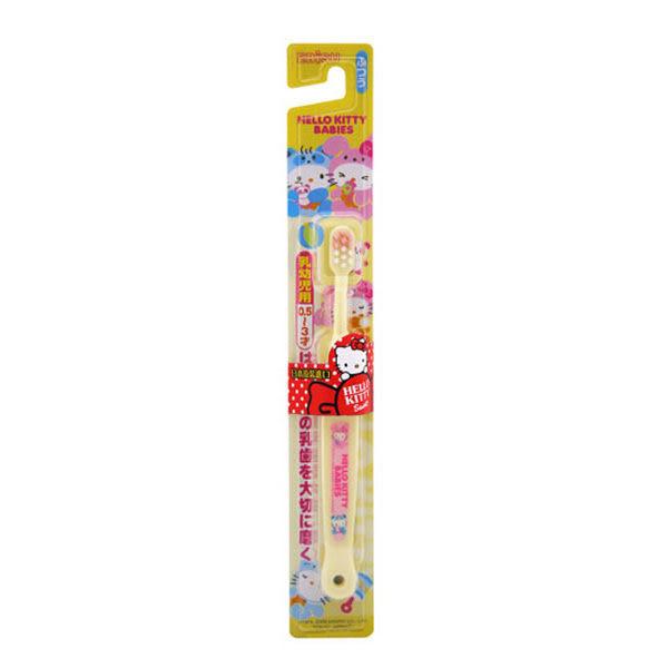 EBISU 日本Hello Kitty 0.5~3歲兒童牙刷 【躍獅】