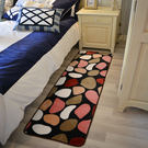 【時尚精品88折】時尚創意地墊17 廚房浴室衛生間臥室床邊門廳 吸水長條防滑地毯(60cm*120cm)