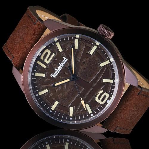 Timberland叢林之心時尚腕錶 TBL.15313JSBN/12 咖啡