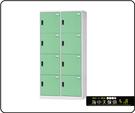 {{ 海中天休閒傢俱廣場 }} F-99 摩登時尚 HDF 多功能置物櫃系列 HDF-2508B 八人用置物櫃