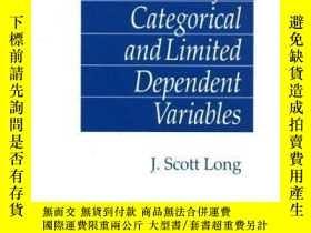 二手書博民逛書店Regression罕見Models For Categorical And Limited Dependent