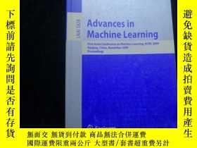 二手書博民逛書店Advances罕見in Machine Learning:Fi