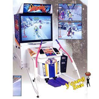 滑雪機 滑雪 滑雪機遊戲 大型遊戲機台出租 遊戲機台買賣 大型電玩