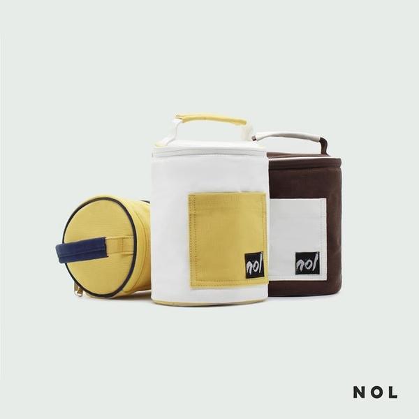 NOL環保純棉帆布防水保溫內里便當袋午餐便當飯盒袋手提拎包