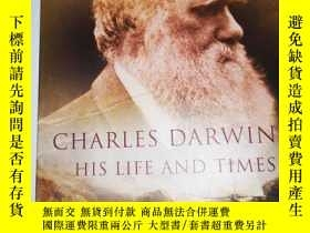 二手書博民逛書店CHARIES罕見DARWIN HIS LIFE AND TIM