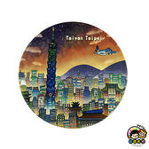 【收藏天地】台灣紀念品*神奇的陶瓷吸水杯墊-漫遊台北∕馬克杯 送禮 文創 風景 觀光  禮品