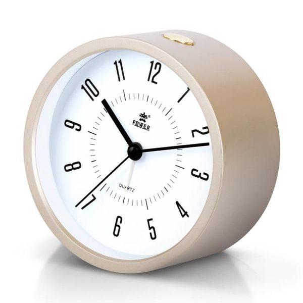鬧鐘 霸王學生床頭鬧鐘創意夜光靜音鬧錶懶人簡約鬧鈴兒童可愛臥室時鐘