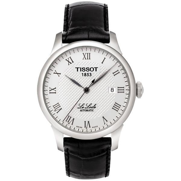 TISSOT 天梭 Le Locle 力洛克圖騰紋機械錶 T41142333