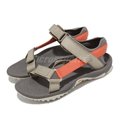Merrell 涼鞋 Kahuna Web 灰 綠 橘 再生織帶 黃金大底 戶外風格 男鞋【ACS】 ML002585