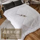 棉被 / 雙人【輕量羊毛被】柔軟保暖  戀家小舖台灣製ADI200