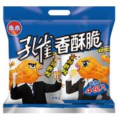 孔雀香酥脆-香魚口味4入【愛買】