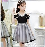 女童洋裝2021夏裝新款兒童網紅裙子小女孩夏季中大童洋氣公主裙 蘇菲小店