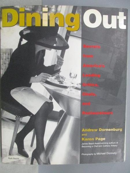 【書寶二手書T2/藝術_WDN】Dining Out_Secrets from America s…