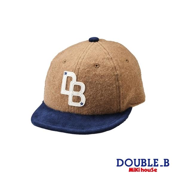 DOUBLE_B DB英文字母棒球帽(駝)