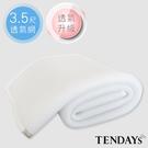 涼墊-TENDAYs 立體蜂巢透氣網(3.5尺大單床用)
