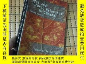 二手書博民逛書店Race罕見and Ethnic Relations in Ca