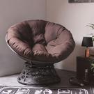 舒適旋轉式星球椅(深咖啡色)-生活工場...