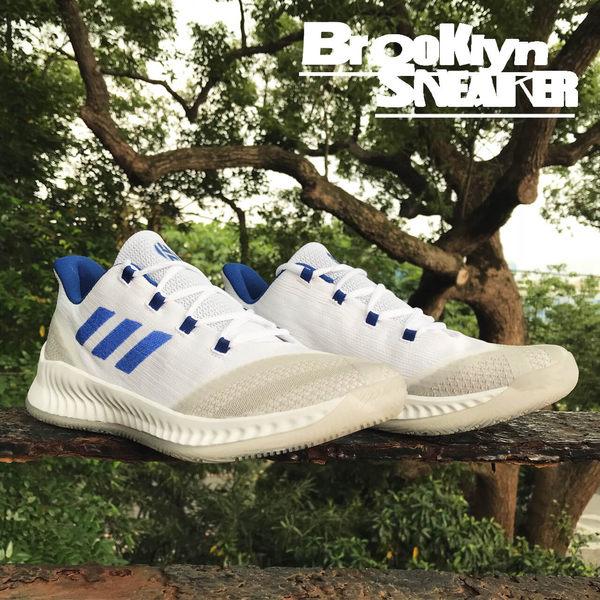 Adidas Harden B/E 2 白 藍條 編織 籃球鞋 男 (布魯克林) 2018/7月 BB7672