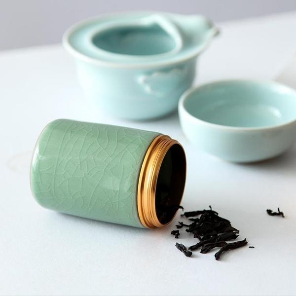 迷你茶葉罐便捷旅行茶罐