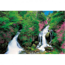 【台製拼圖】浪漫風景-山之泉2/山の泉2 (1000片) HM100-255