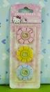 【震撼精品百貨】Hello Kitty 凱蒂貓~磁鐵-花朵-三入【共1款】
