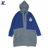 【秋冬降價款】American Bluedeer - 連帽拼色針織外套(魅力價)  秋冬新款
