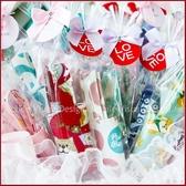 環保飲料杯套X50份(有包裝-隨機混合8款)+大提籃X1個-(限宅配) -幸福朵朵 實用婚禮小物