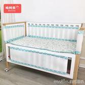 哈利兔嬰兒床防撞床圍欄 兒童床床幃秋季護欄墊床圍子純棉可拆洗 美芭