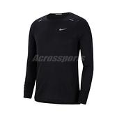 Nike 長袖T恤 Rise 365 Running Top 黑 銀 男款 跑步 運動休閒 【ACS】 CJ5425-010