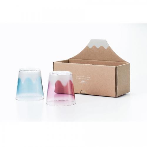 【ADERIA】 富士山對杯300ml/1組