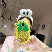 菠蘿流沙美圖t8手機殼M8硅膠保護套M6全包防摔m6s個性可愛創意女   享購