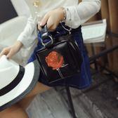 手提包 - 玫瑰花迷你單肩手提包