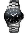 Olympia Star 夜鷹系列T25時尚腕錶-IP黑 58054TMB