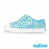 native 大童鞋 JEFFERSON 小奶油頭鞋-小雛菊藍