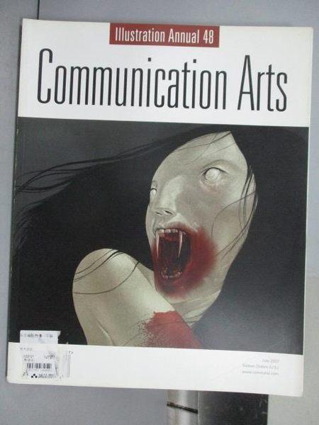 【書寶二手書T9/設計_QNO】Communication Arts_353期_illustration Annual