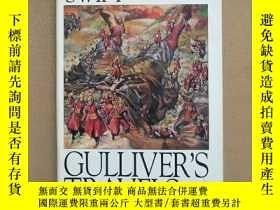 二手書博民逛書店Gullivers罕見Travels 格列佛遊記(英文原版 精裝