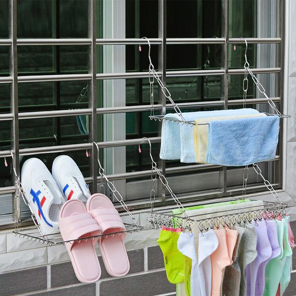 窗台曬衣架 曬襪架 曬毛巾架 SIN7632 衣架 曬衣架 毛巾架