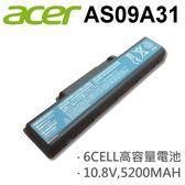 ACER 6芯 日系電芯 AS09A31 電池 GATEWAY Series NV5423U NV7802U NV5810U NV5212U NV5610U NV5425U NV5814U NV5614U NV5435U