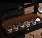 手錶收藏盒 實木質手表收納盒家用首飾盒子手表盒腕表架簡約歐式表箱表盒【快速出貨八折鉅惠】