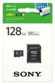 [富廉網] SONY 128GB Mirco SDXC UHS-1 C10記憶卡附轉卡 (SR-UY3A)