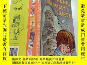 二手書博民逛書店Horrid罕見Henry and the Mummy s Curse:可怕的亨 利和木乃伊的詛咒Y20039