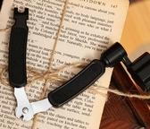 吉他捲弦器上弦剪弦鉗起錐器三合一民謠木吉他配件換弦工具套裝 歐韓流行館