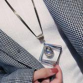 衣服掛飾韓國鑰匙項錬秋冬長款毛衣錬配飾裝飾女吊墜百搭掛件個性【博雅生活館】