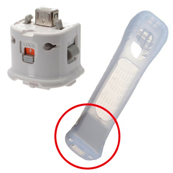 Wii 加速器 手把 Motion Plus 強化器 副廠 黑色 白色