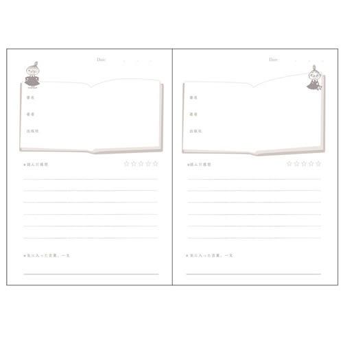 MOOMIN嚕嚕米日本製讀書心得記錄本(讀書)★funbox★Gakken_GK18506